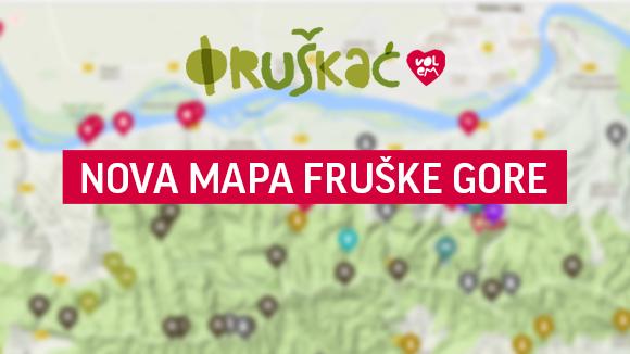 fruska gora mapa Map | Fruška Gora, Serbia | Fruškać fruska gora mapa
