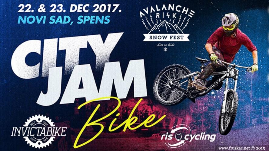 News - Prva City Jam Bike trka