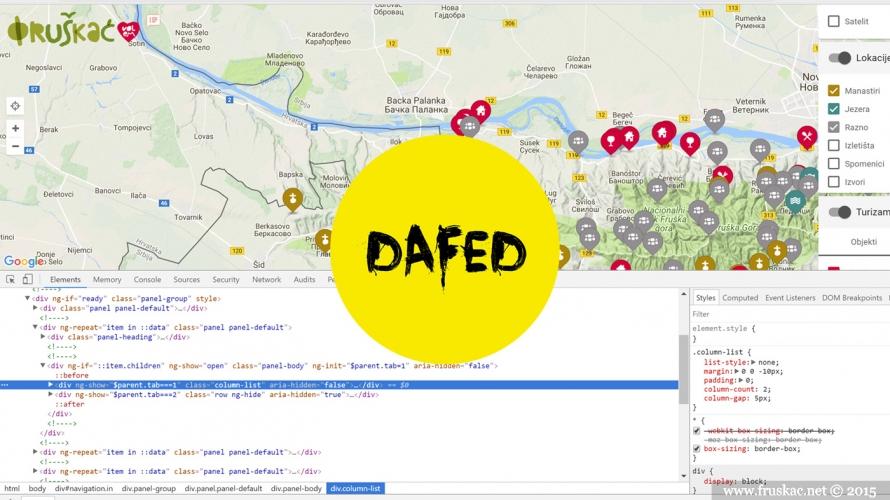 News - Razvoj mape - poziv za programere careve!