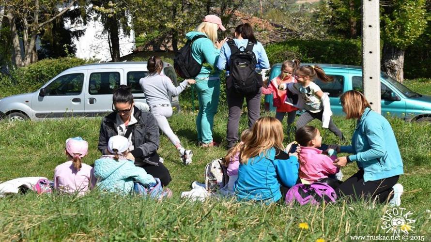 News - Prva porodična šetnja na Fruškoj gori