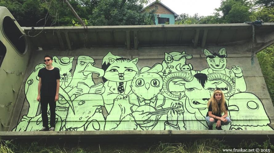 News - Oslikani prvi murali na Fruškoj gori