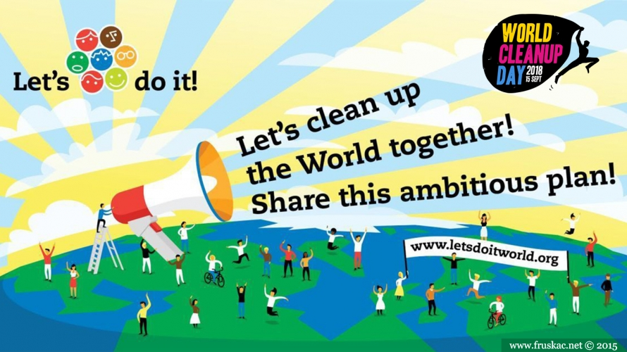News - Postani deo World Cleanup Day 2018 globalne inicijative