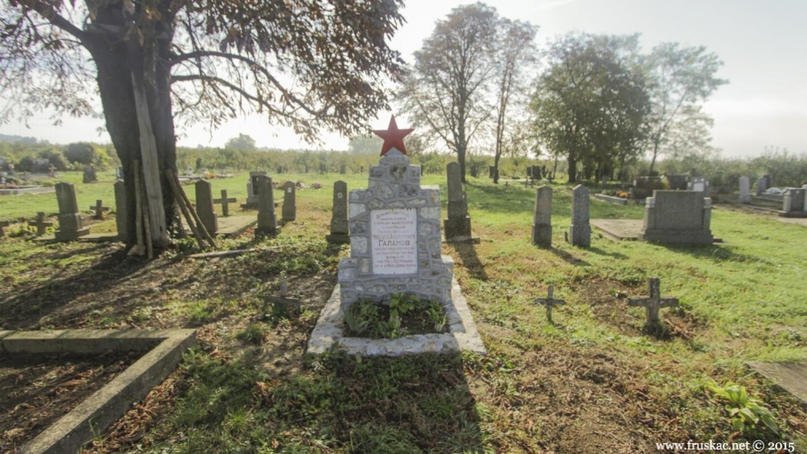 Monuments - Spomen-grob ruskom heroju