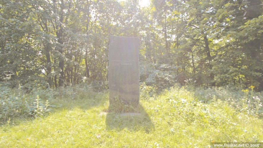 Monuments - Spomen-obeležje Ivan Stambolić