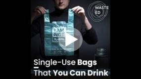 Eco-friendly biorazgradive kese koje možete da popijete